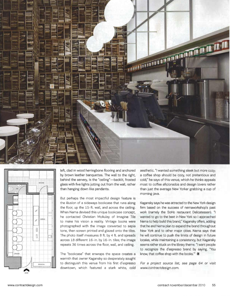 Contract Magazine: D'Espresso