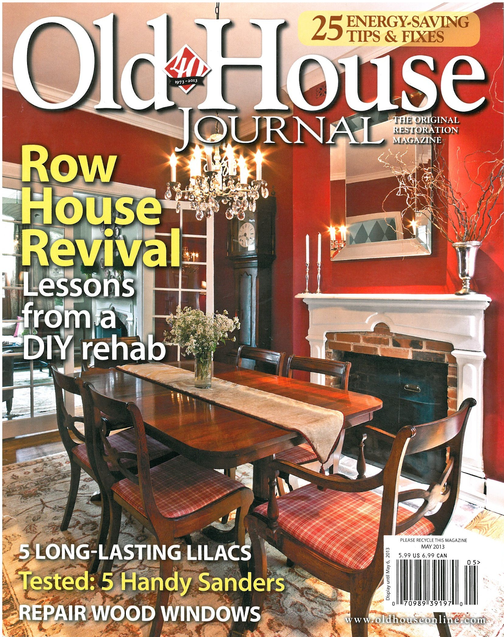 Old House Journal: Jaquard Collection