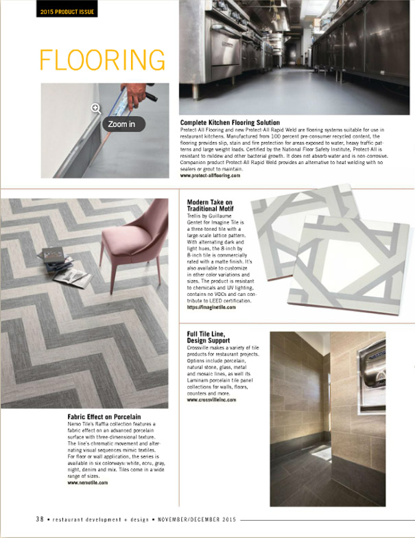 restaurant development design trellis article - Porcelain Tile Restaurant 2015
