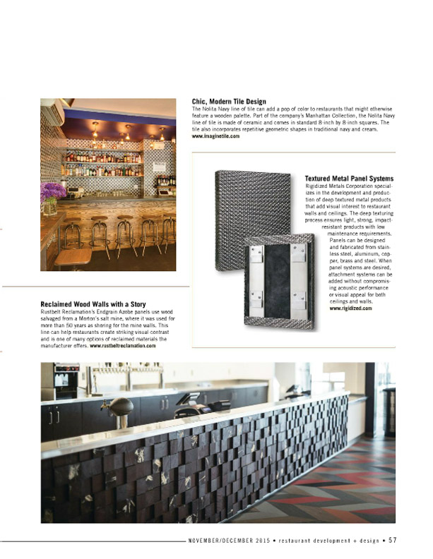 restaurant development design nolita navy article - Porcelain Tile Restaurant 2015