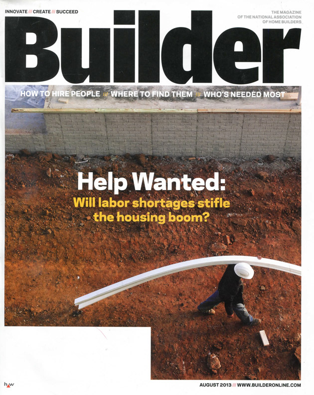 Builder Magazine Cover: Manhattan Collection
