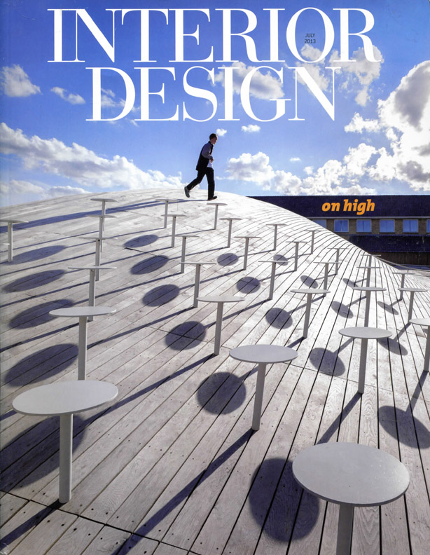 Interior Design Magazine Cover: Nomad