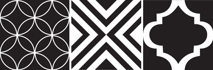 Our New Black White Tile Collection